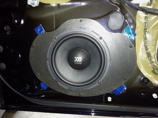 LS600h スピーカー取り付け
