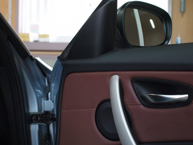 BMW 1シリーズ カブリオレ スピーカー取付