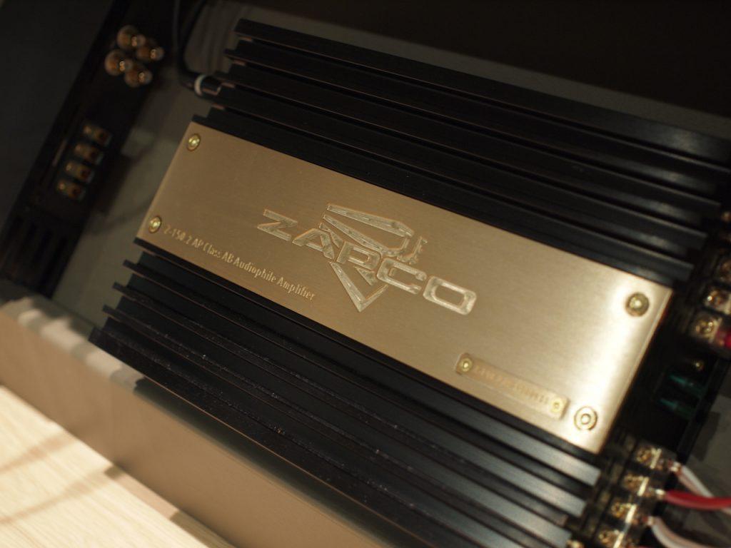 ザプコ 2chアンプ Z-150.2AP