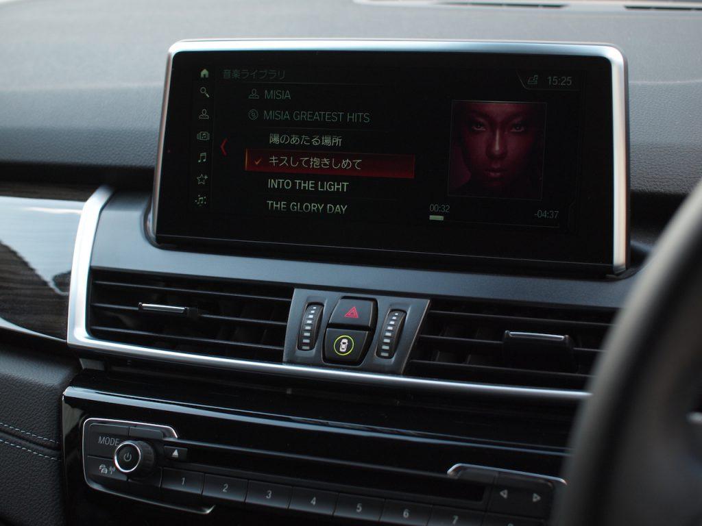 BMW 218d 音質調整