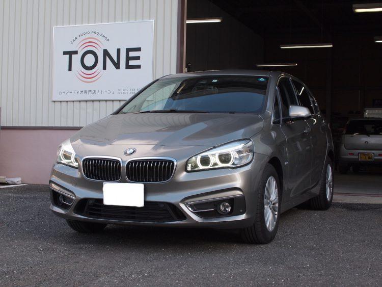 BMW 218d スピーカー交換作業
