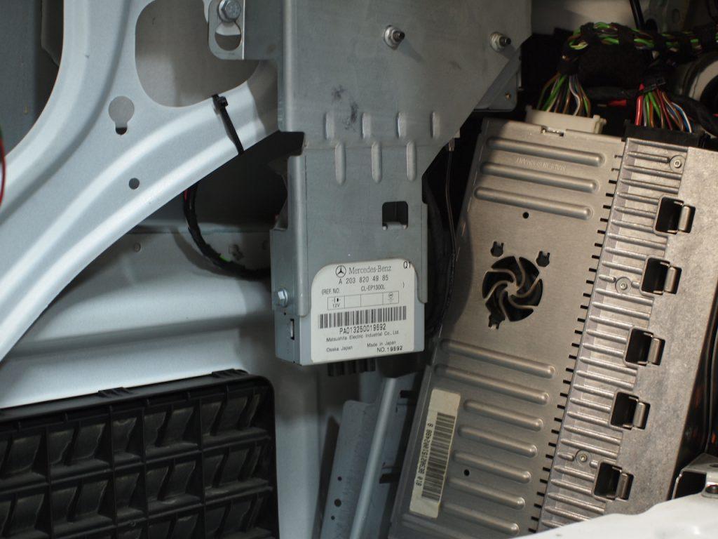 メルセデスベンツ S500L 純正アナログテレビチューナー