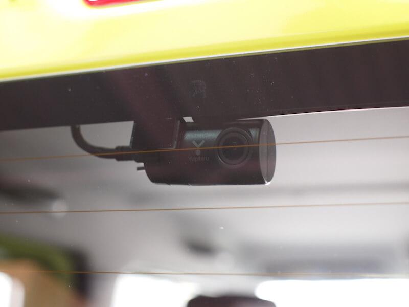 スズキ ジムニー(JB64W) ドライブレコーダー取り付け リアカメラ