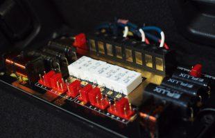 マツダ CX−3にフラックスのパッシブネットワーク取り付け
