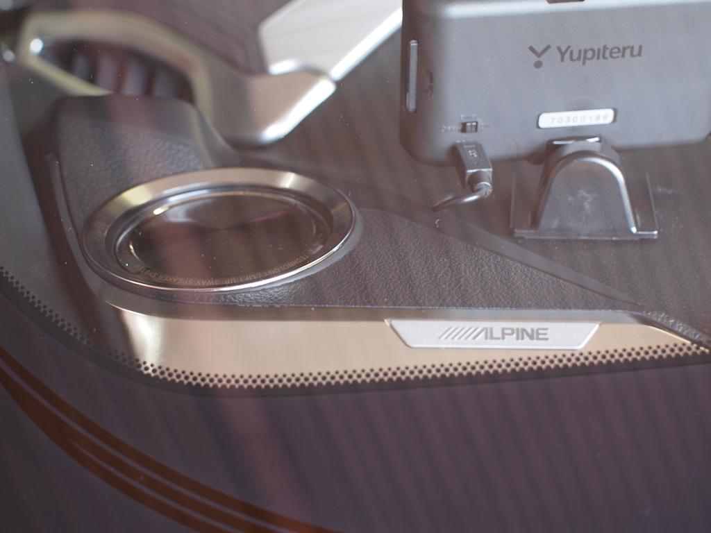 アルパインC-HR専用リフトアップスピーカー取り付け 車外からのビジュアル
