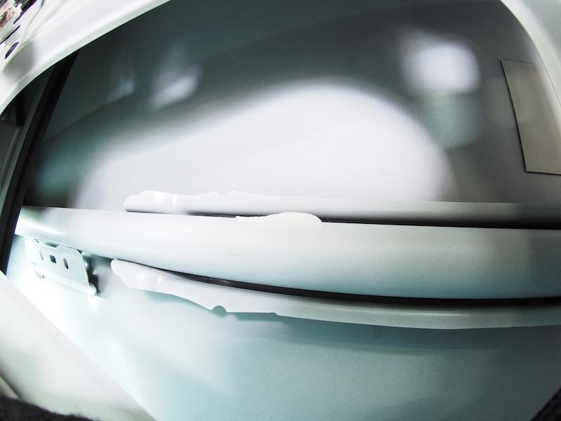 ドアアウターパネル脱脂洗浄