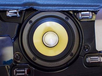 メルセデス・ベンツ専用スピーカー交換フォーカルセットES80K