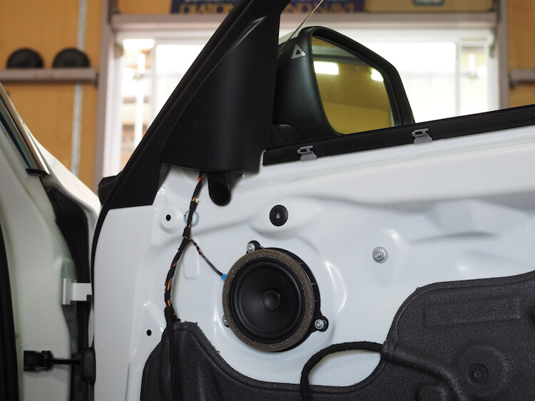 BMW 320d ドア内部