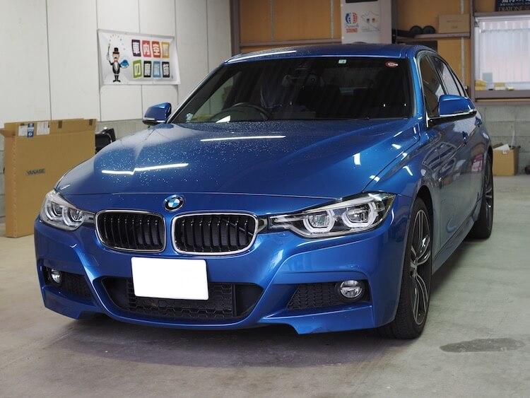 BMW 320i フォーカルスピーカー取り付け