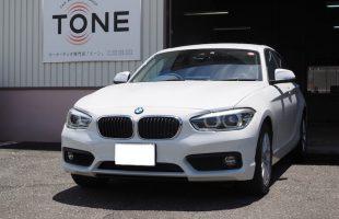 BMW 118i のスピーカー交換作業をおこなました