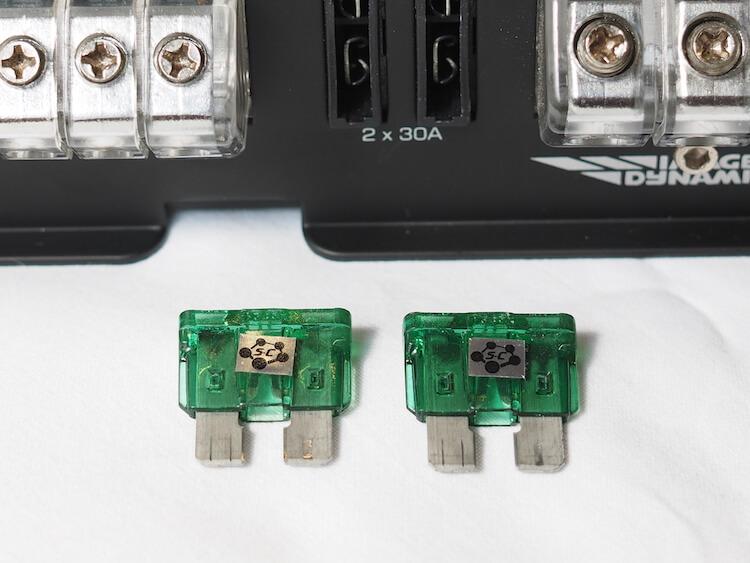 イメージダイナミクスi4500 ヒューズはクライオに交換済み