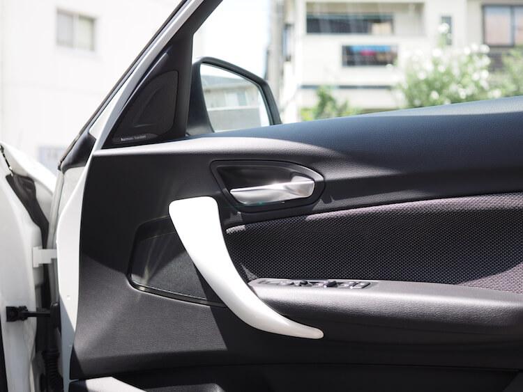 BMW118dのスピーカー交換作業