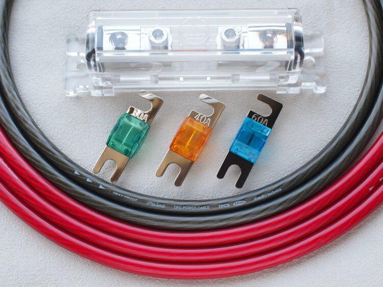 電源ケーブル8Gセット