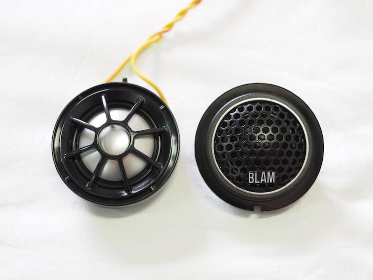 ブラムツィーターにBMW用アタッチメントリング取り付け