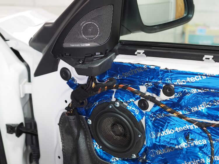 BMW220i F22 スピーカー交換