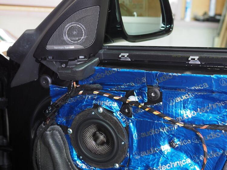 BMW M2 スピーカー交換ブラム