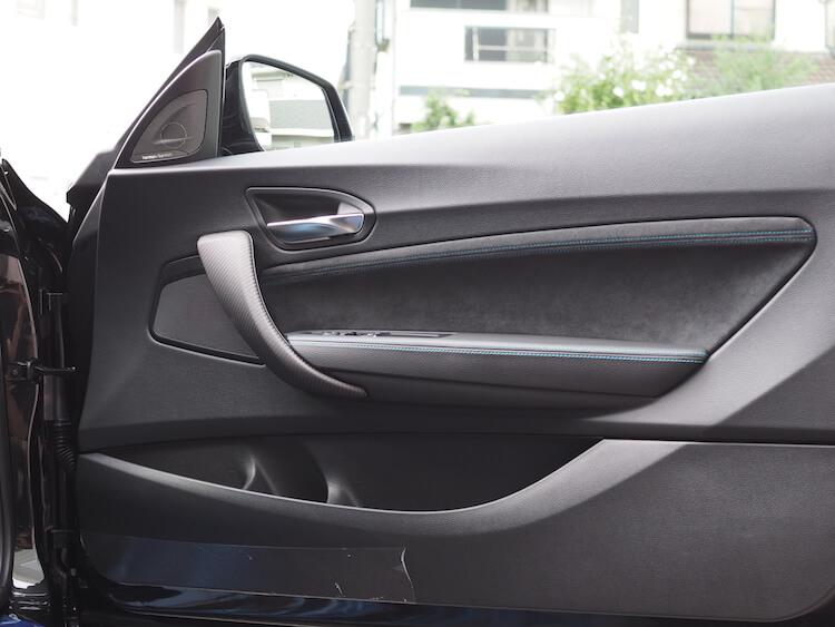 BMW M2 ブラムのスピーカーに交換後のドア