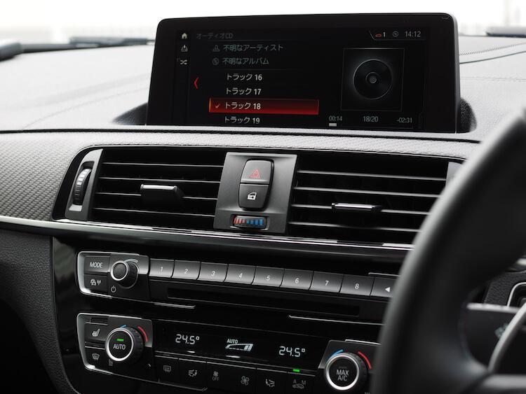 BMW M2 オーディオ音質調整