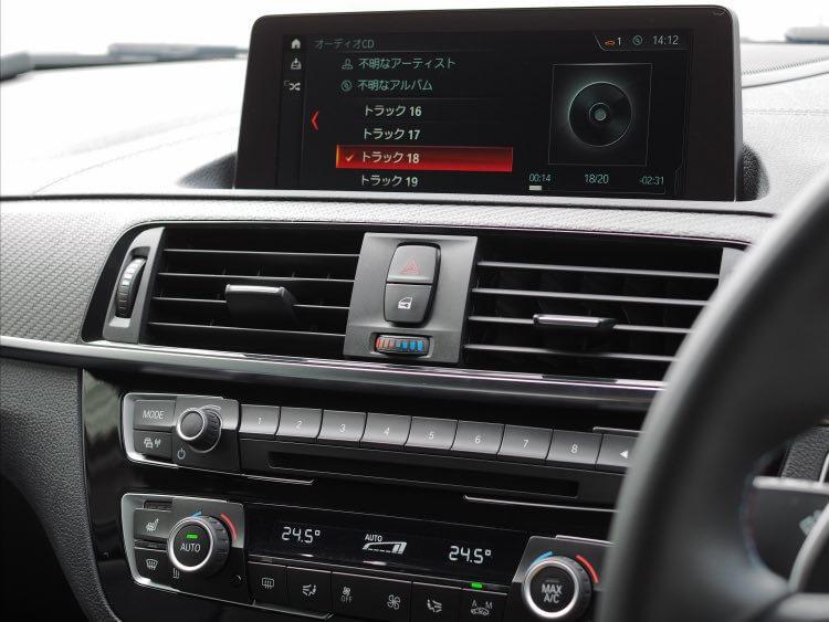 BMWメインユニット音質調整