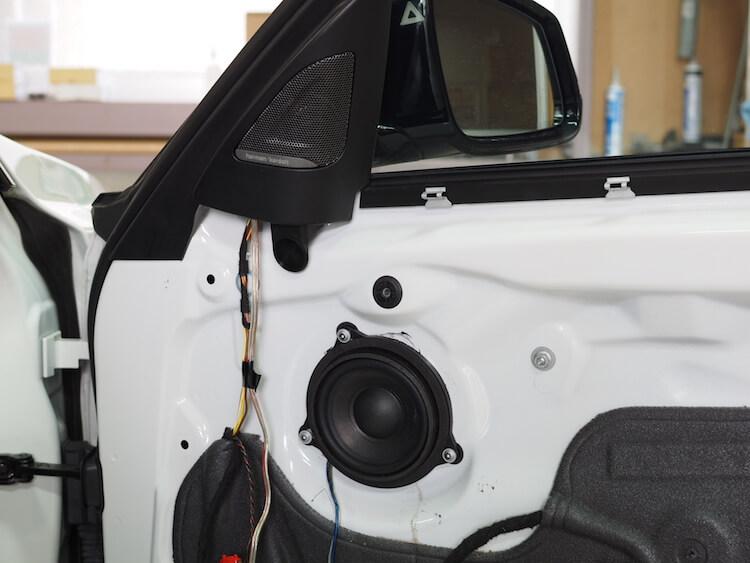 BMW3シリーズツーリング F31のドア内部