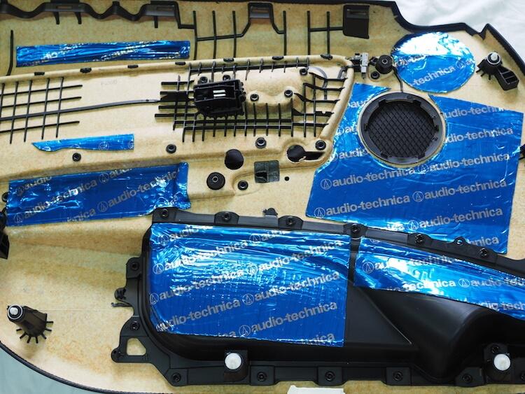 BMW3シリーズツーリング F31ドア内張りデッドニング