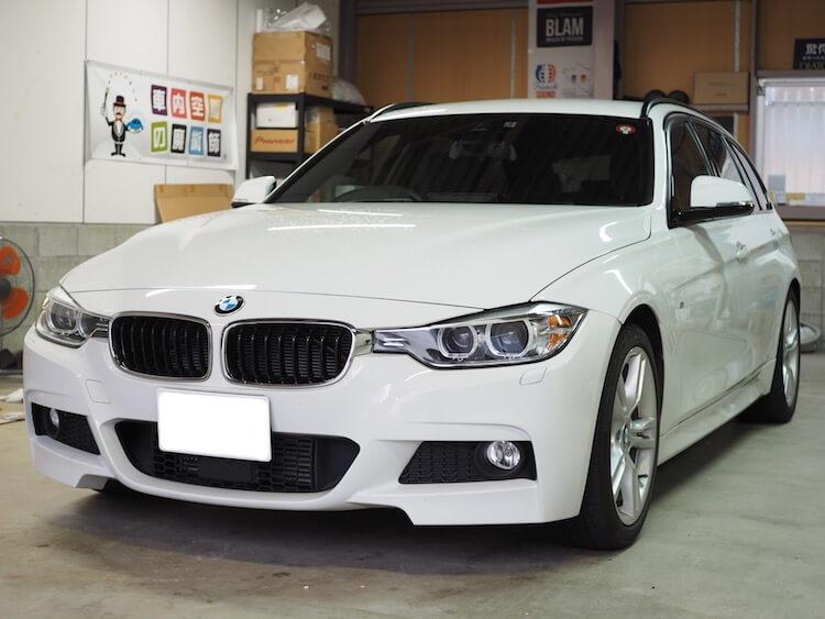 BMW 3シリーズツーリング(F31)フォーカルへスピーカー交換作業