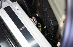 レクサス LS600hL スピーカー交換&プロセッサー取り付け作業