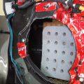 マツダ CX−3 スピーカーケーブル交換作業