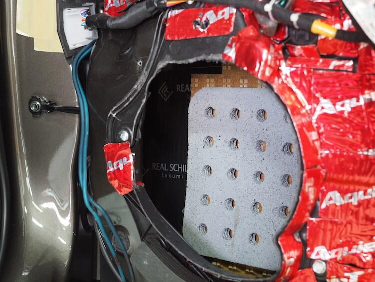 マツダ CX3 スピーカーケーブル交換