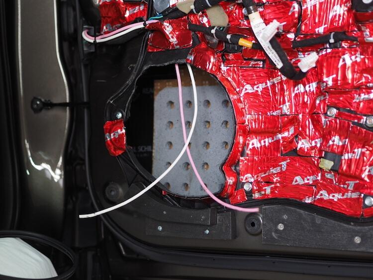 マツダCX3にオーディオテクニカのAT-RX12を取り付け
