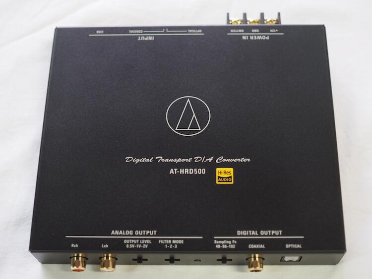 オーディオテクニカAT-HRD500