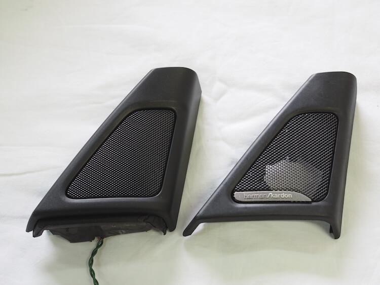 BMW_528iの純正ツィーターパネル