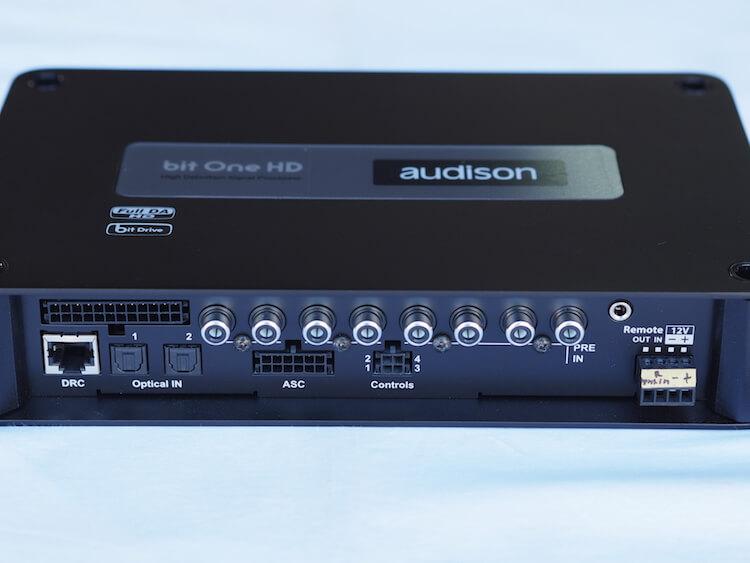 オーディソンのプロセッサー、bitOneHD端子部