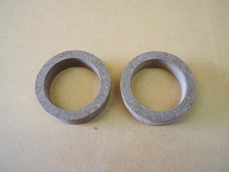 ブラムのツィーターを加工取り付けするためのリング