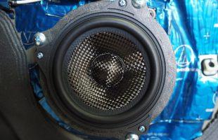 ミニ クーパーS(F55)にブラムスピーカー取り付け作業