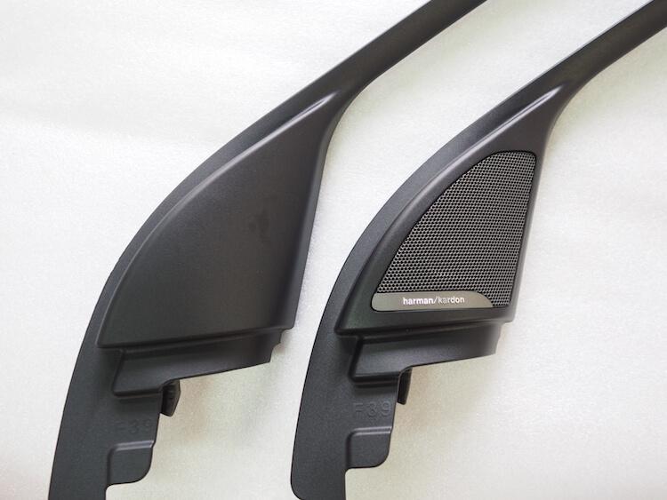 BMW X2のミラー裏パネル