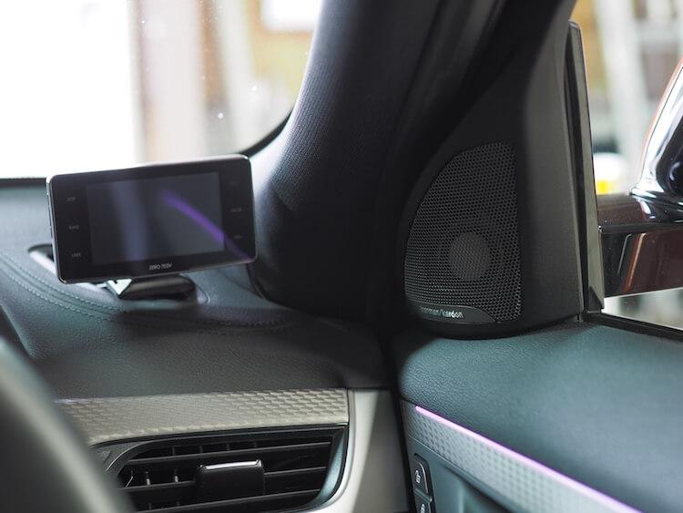 BMW_X2にビーウィズのツィーター取り付け