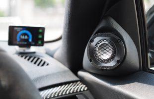 BMW 235iにフォーカル ユートピアM のツィーター加工取り付け