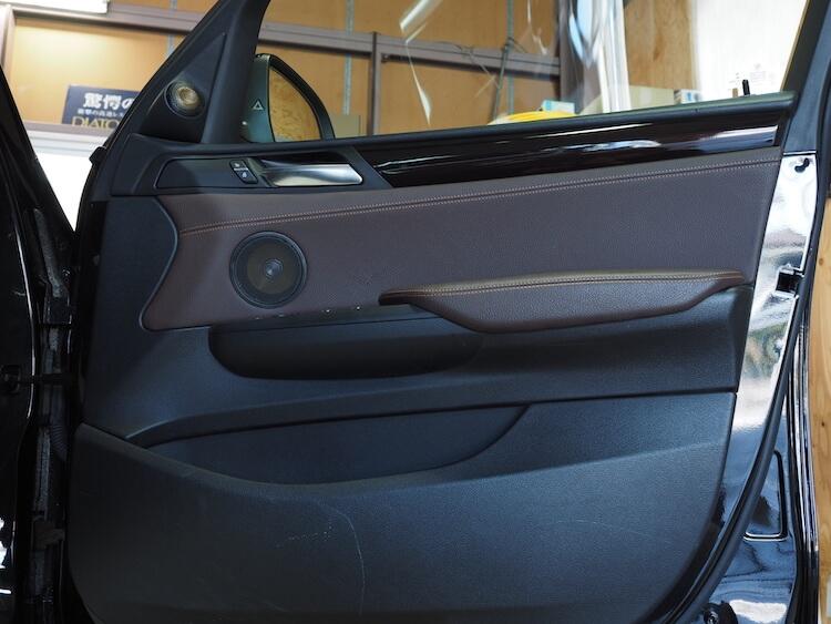 BMW_X3のドア内張