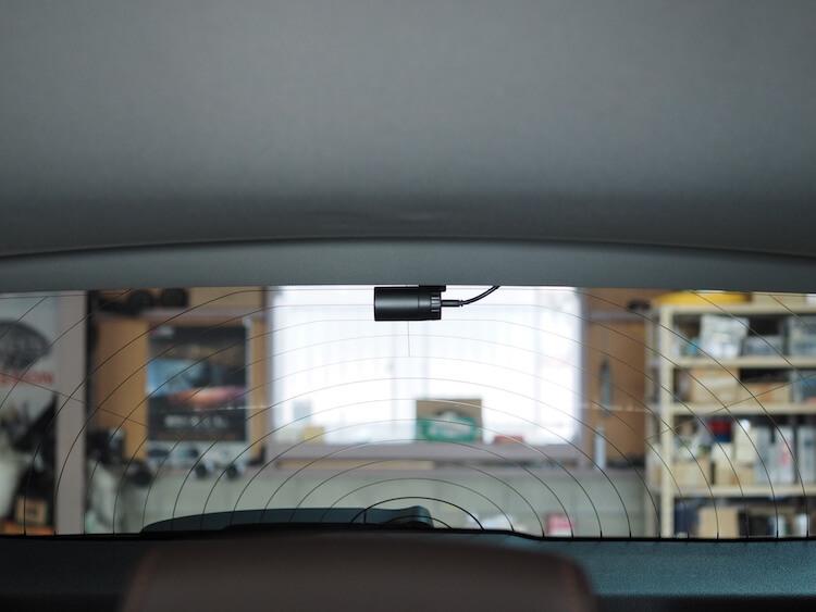 BMWにユピテルのドライブレコーダー取り付け
