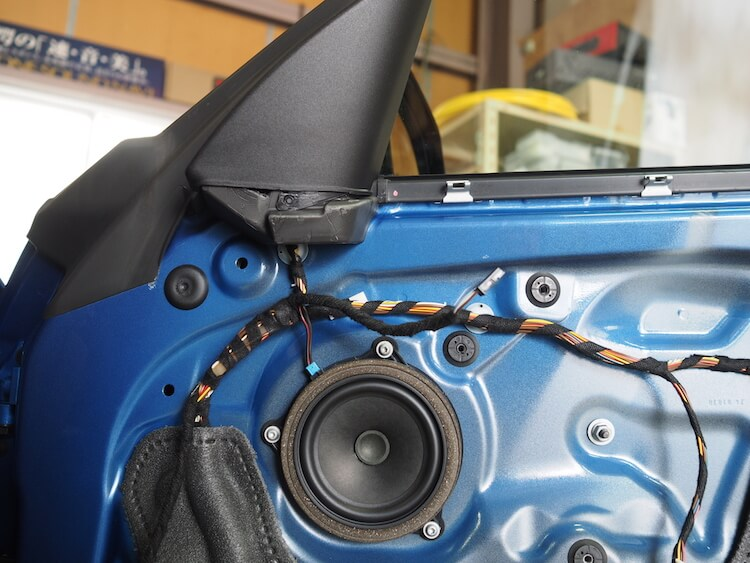 BMW2シリーズF23の純正フロントスピーカー