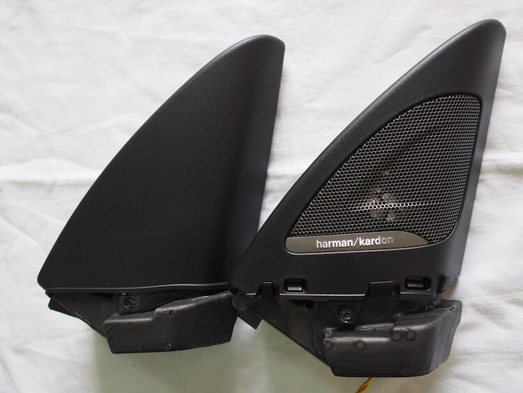BMW2シリーズF23のミラー裏ハーマンカードンパネル