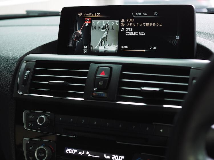 BMW2シリーズF23の音質調整