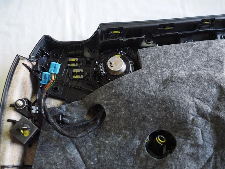 メルセデスベンツC200_W205のドアミッドレンジスピーカー