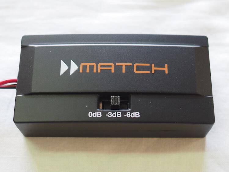 マッチのメルセデス専用スピーカーのハイパスフィルター