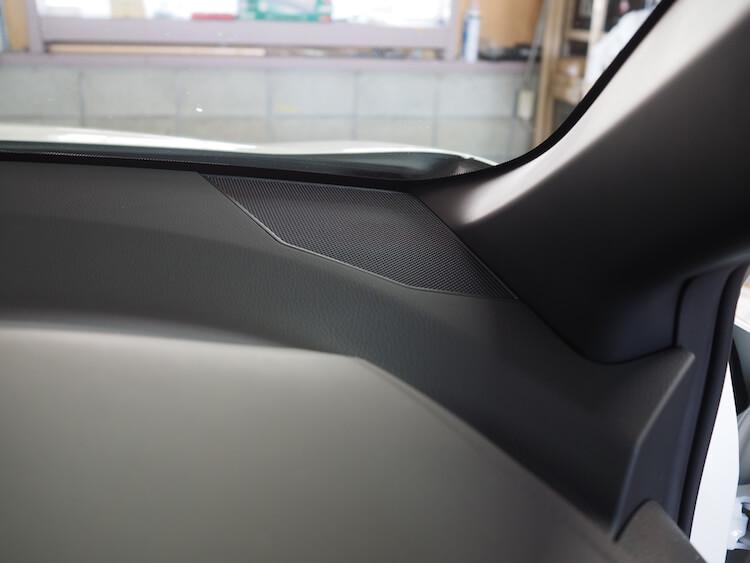 トヨタC-HRのダッシュボードツィーター