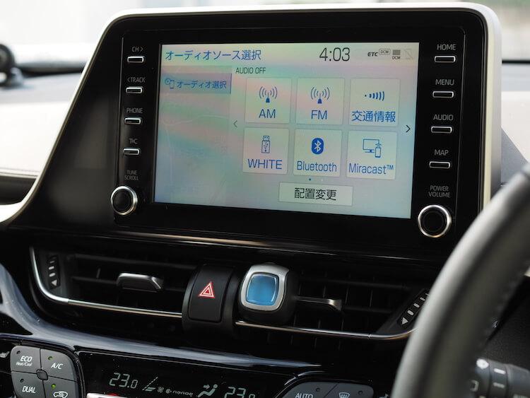 トヨタC-HRの純正オーディオを使った音質調整