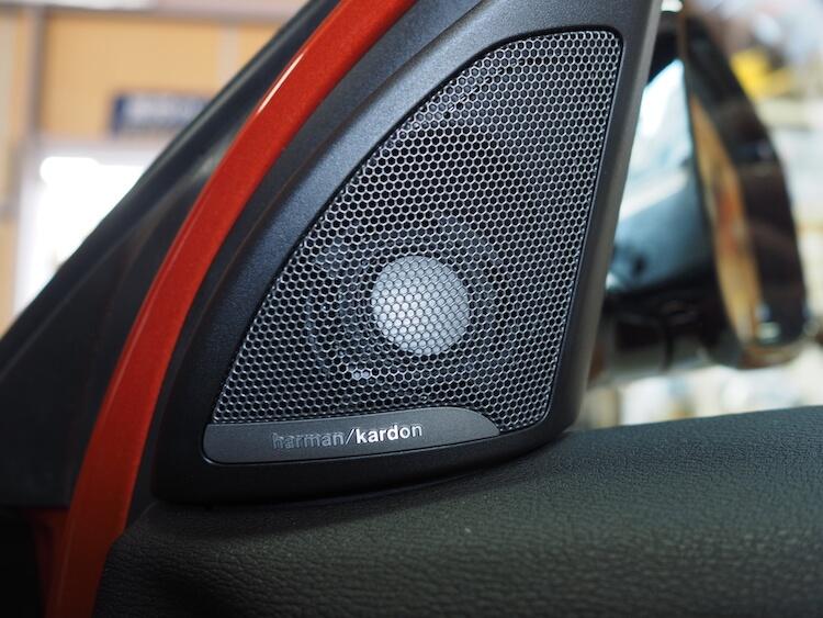 BMWX2にビーウィズのツィーター