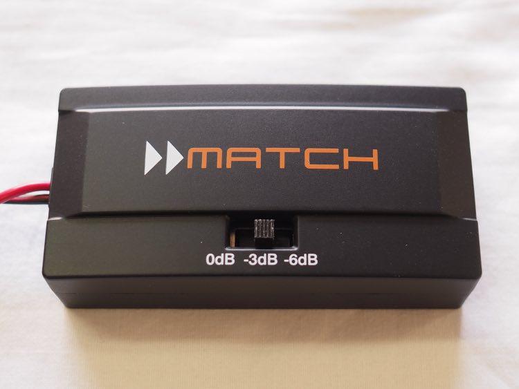 マッチのメルセデスベンツ専用スピーカー付属パッシブクロスオーバー