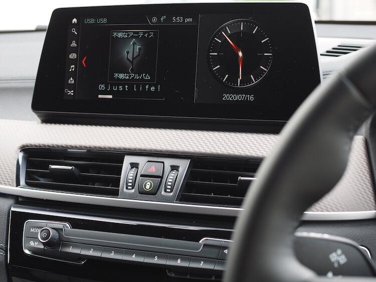 BMWX2の音質調整